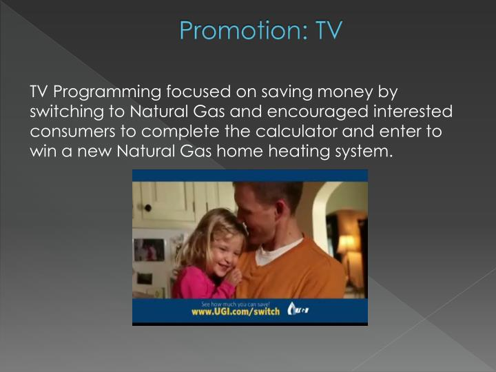Promotion: TV