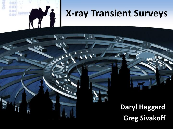 X ray transient surveys