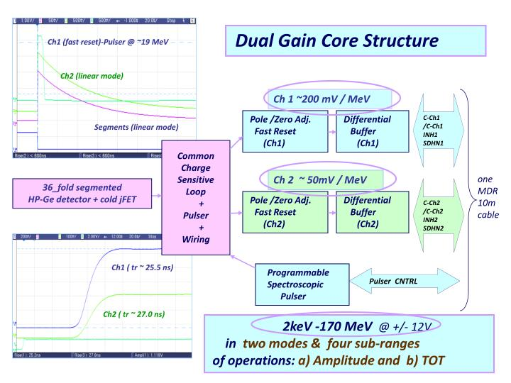 Dual Gain Core Structure