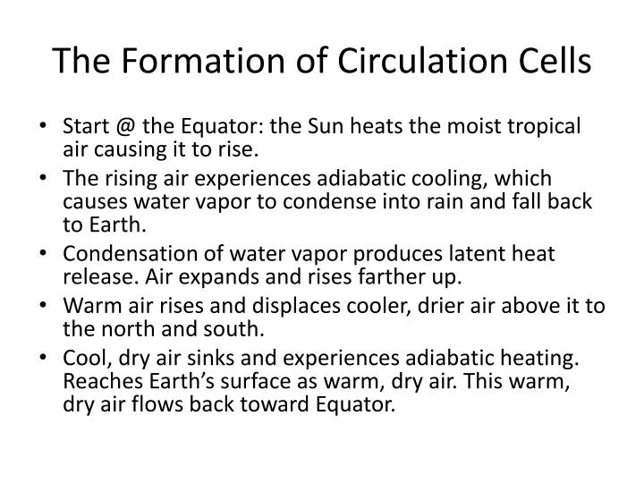 The Formation of Circulation