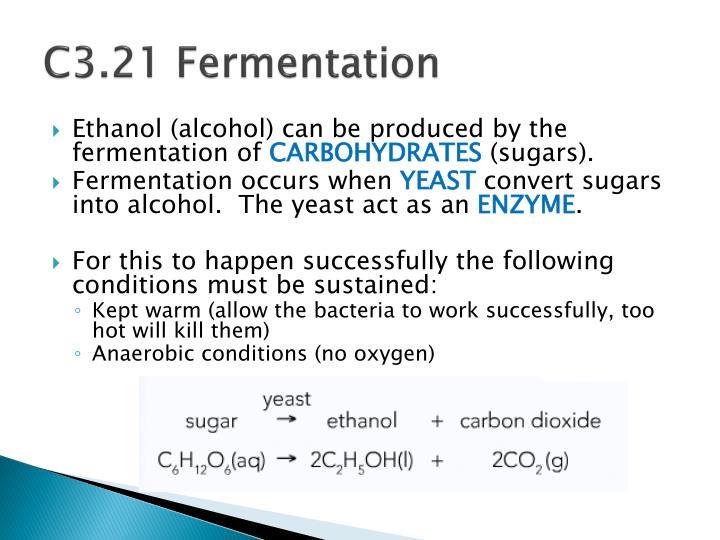 C3.21 Fermentation