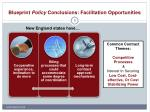 blueprint policy conclusions facilitation opportunities