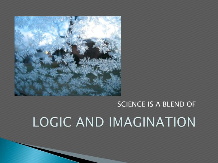 LOGIC AND IMAGINATION