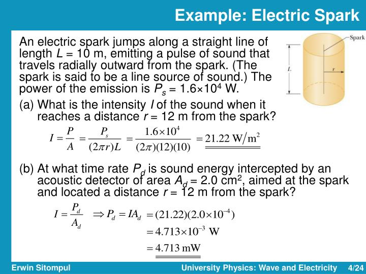 Example: Electric Spark