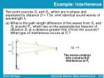 example interference