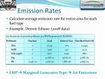 emission rates1