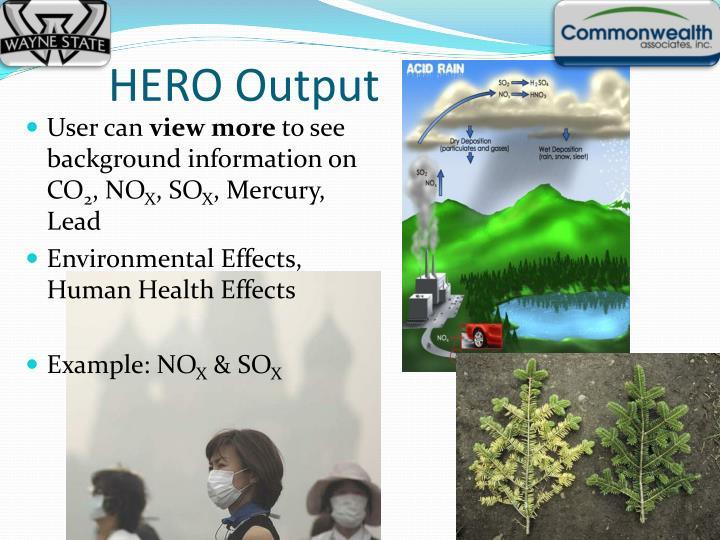 HERO Output