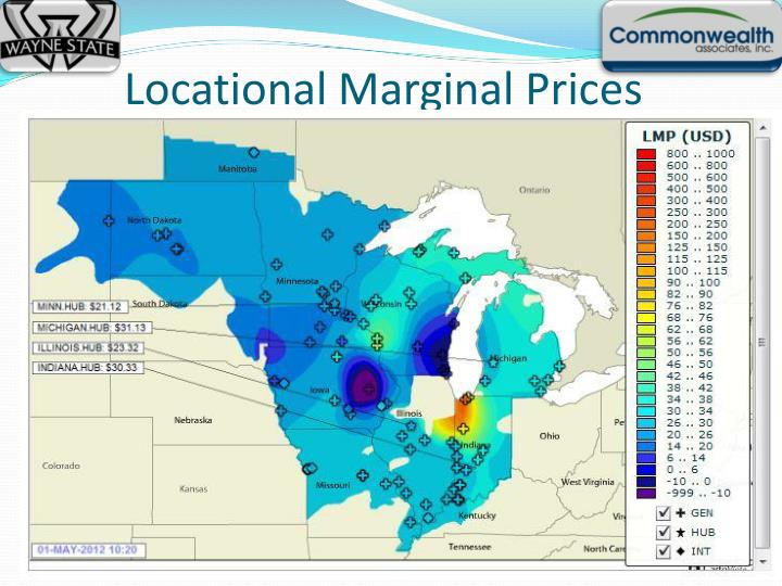 Locational Marginal Prices