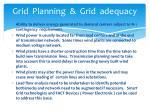 grid planning grid adequacy