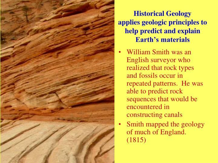 Historical Geology