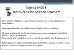 resources for science teachers