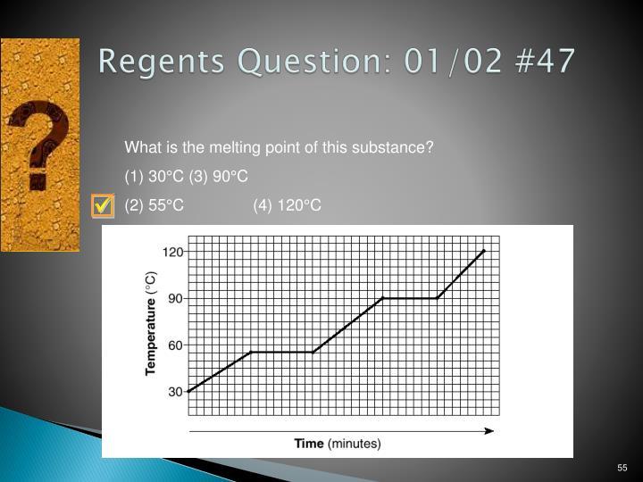 Regents Question: 01/02 #47