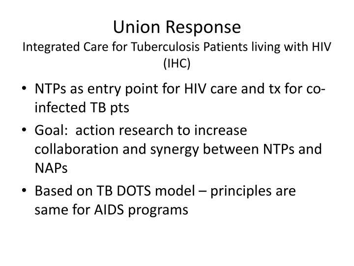 Union Response