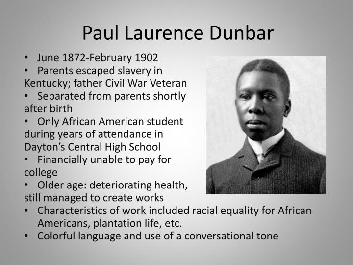 reflection african american and paul laurence