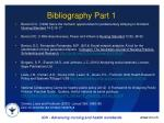 bibliography part 1