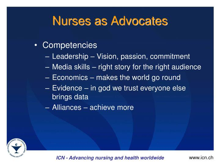 Nurses as