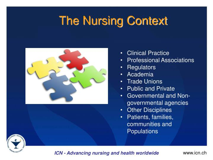 The Nursing Context