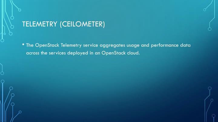 Telemetry (Ceilometer)