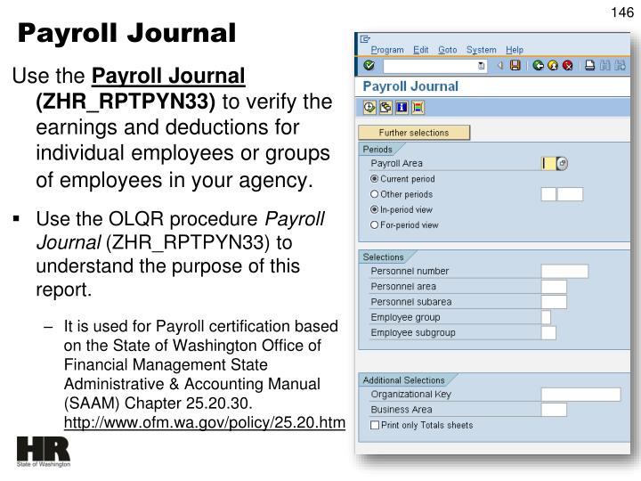Payroll Journal