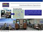 distributed mission operations