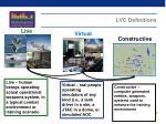 lvc definitions