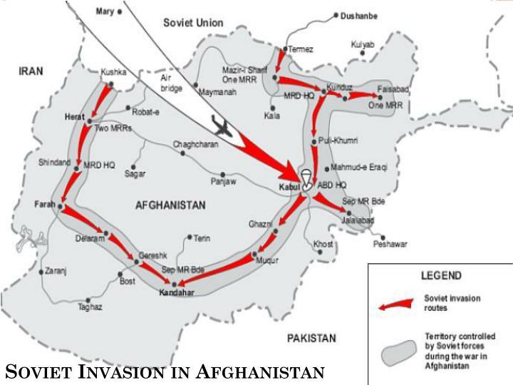 Soviet Invasion in Afghanistan