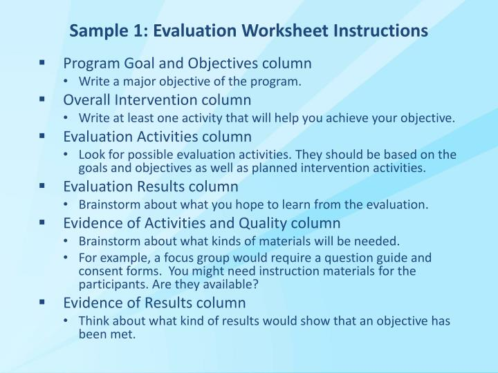 evaluate different techniques for sampling evidence References to articles that describe these different qualitative research  was  the method of sampling appropriate for the research  question.