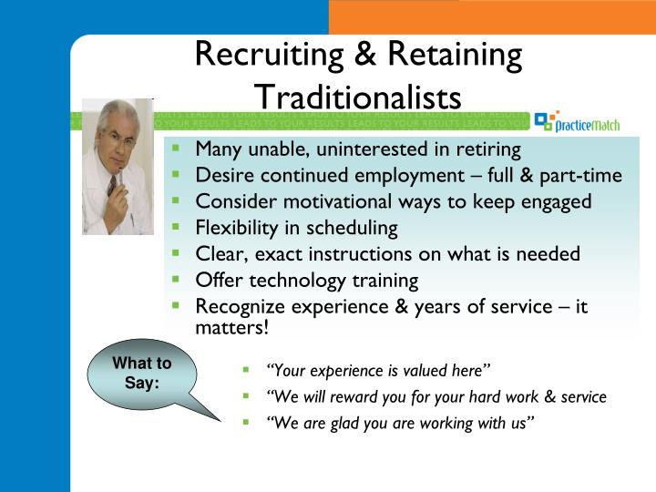 Recruiting & Retaining