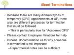 about terminations2