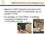 additional university employment3