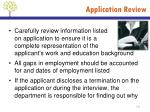 application review1