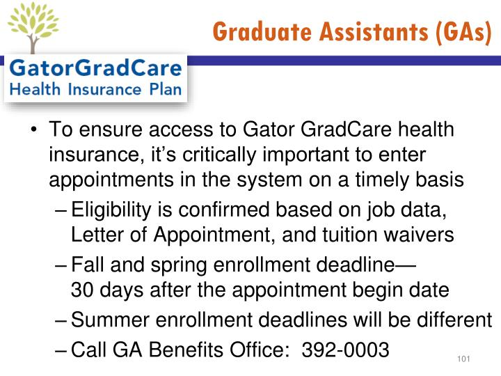 Graduate Assistants (GAs)