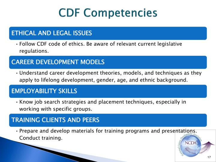 CDF Competencies