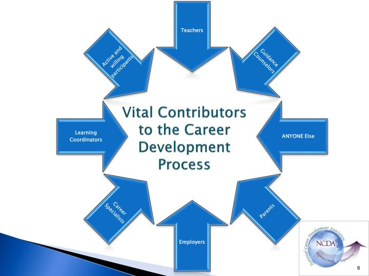 Vital Contributors to the Career Development Process
