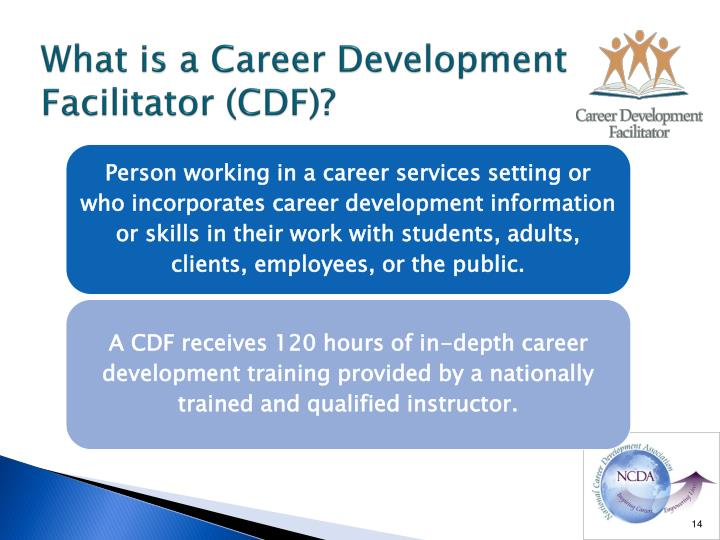 What is a Career Development Facilitator (CDF)?