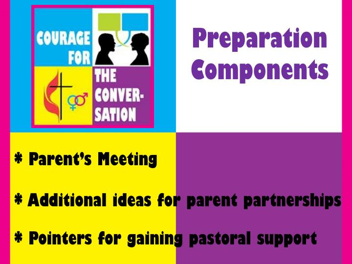 Preparation Components