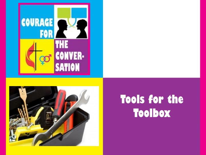 Tools for the Toolbox