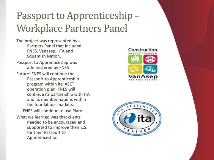 Passport to Apprenticeship –