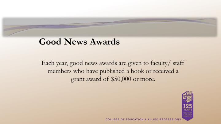 Good News Awards