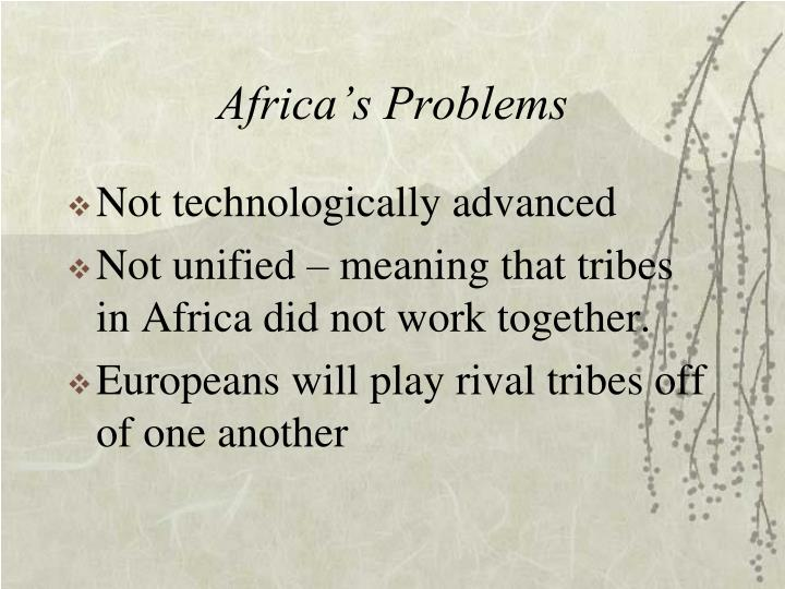 Africa's Problems