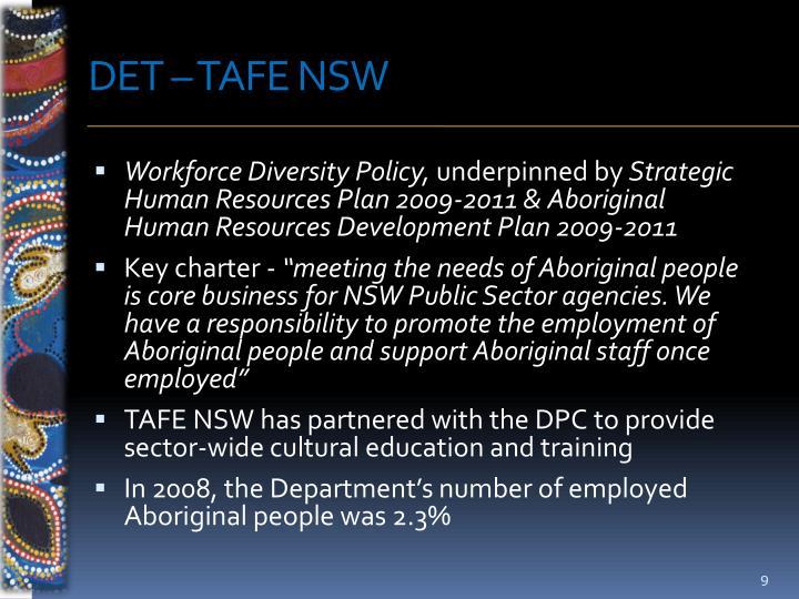 DET – TAFE NSW