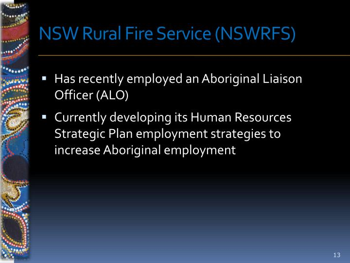 NSW Rural Fire Service (NSWRFS)