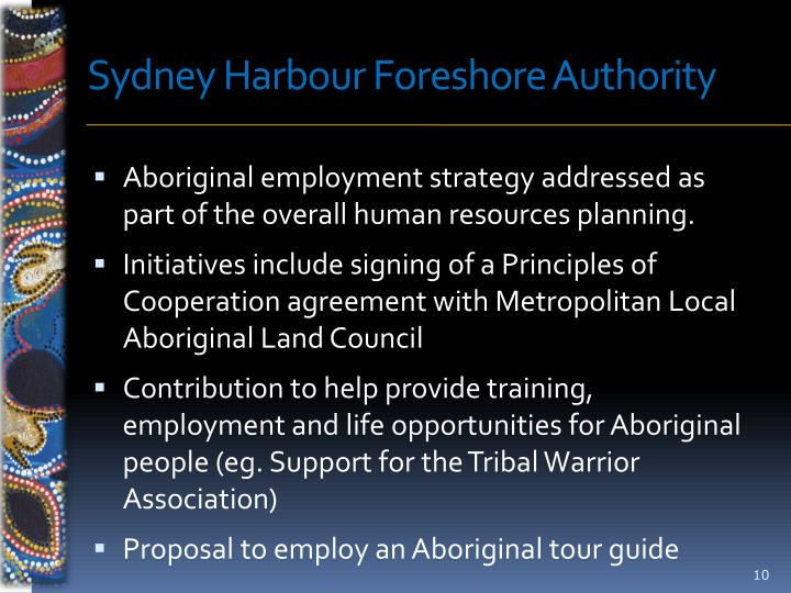 Sydney Harbour Foreshore Authority