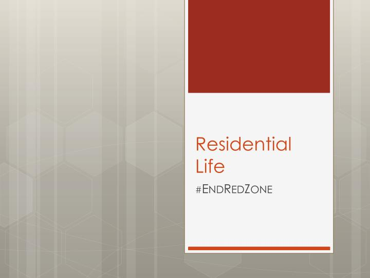 Residential Life