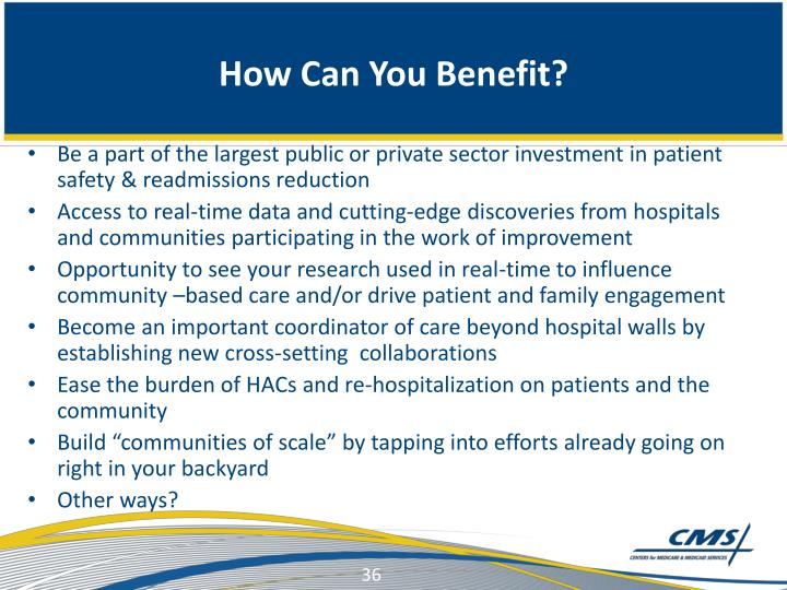 How Can You Benefit?