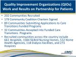 quality improvement organizations qios work and results on partnership for patients