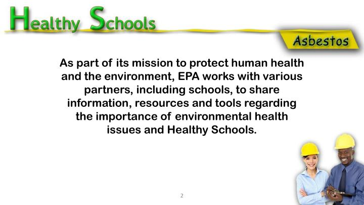 As part of its mission to protect human health