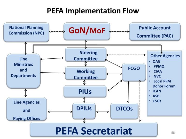 PEFA Implementation Flow