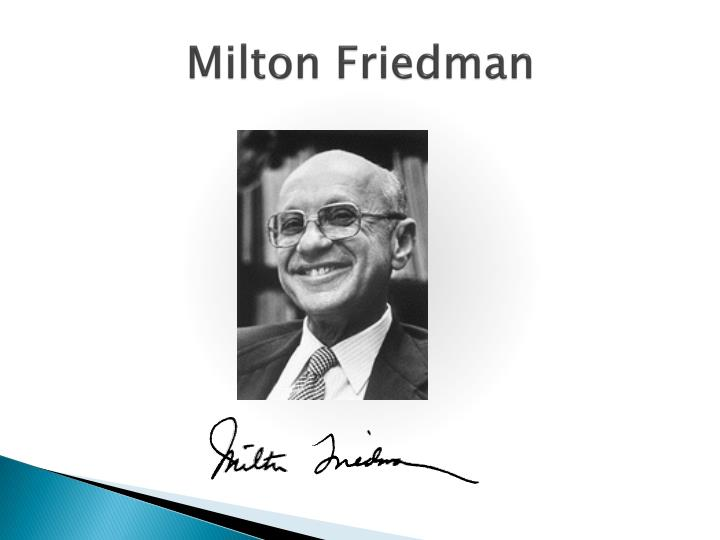 the life and work of milton friedman an economist Monday is milton friedman day, celebrating the life of the revolutionary economist who did more than any other economist of his generation to advance his belief in free markets readers in america will be able to view a documentary about his life and work titled the power of choice, which will.