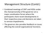 management structure contd4